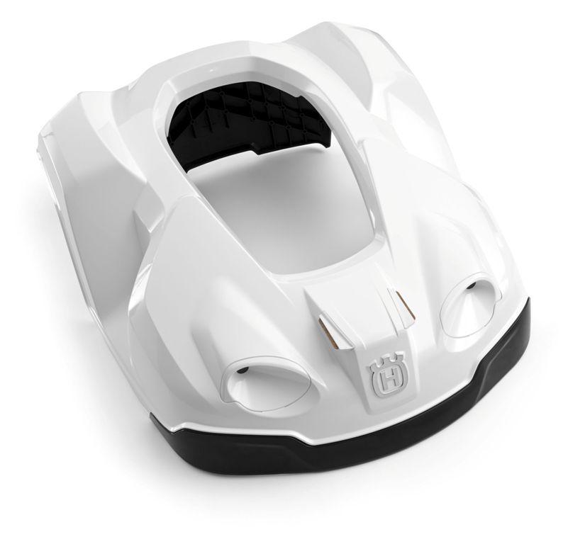 accessoires voor husqvarna automower 320 330x husqvarna automower kap 330x wit mansier. Black Bedroom Furniture Sets. Home Design Ideas